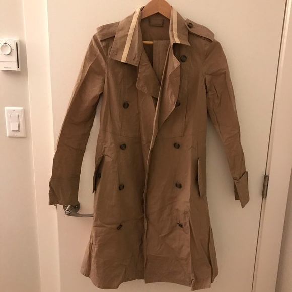 Diane von Furstenberg Trench Coat Jacket